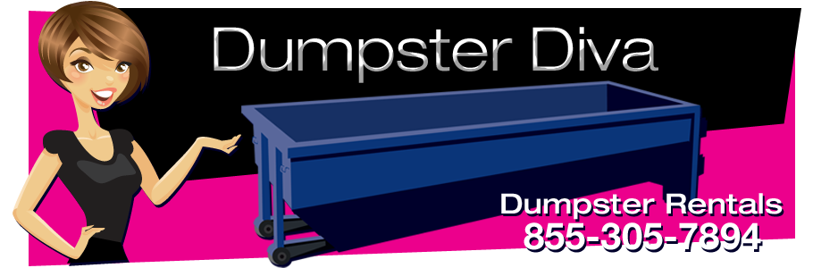 Dumpster Rentals by Dumpster Diva 855-305-7894, Dumpster Rentals, Rent Roll-Off Dumpsters and Porta-Potties