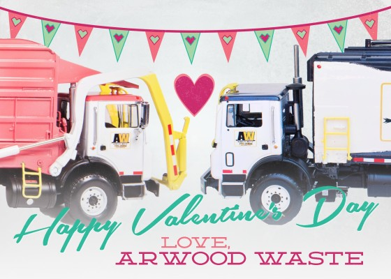 Valentines Day - Arwood Waste (888) 413-5105 Toll Free – Dumpster, Residential Roll Off Dumpster, Front Load Equipment, Commercial Dumpster, Construction Dumpsters and Demolition – Free Quote