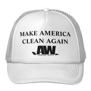 Make America Clean Again Hat - Arwood Waste - (888) 413-5105 Toll Free – Dumpster, Residential Roll Off Dumpster, Front Load Equipment, Commercial Dumpster, Construction Dumpsters and Demolition – Free Quote