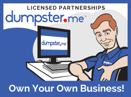 Dumpster.me Licensed Partnerships | Own your own waste company