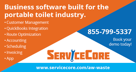 ServiceCore | Business Software built for the Portable Toilet Industry | Recommended by Arwood Waste