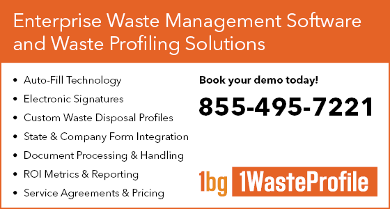 1WasteProfile | Waste Management Software and Waste Profiling Solutions | Arwood Waste Partner