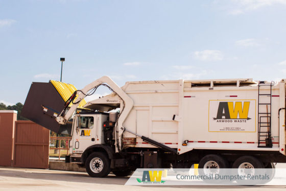 Commercial Dumpster Rental Product Guide | Commercial Dumpsters from Arwood Waste