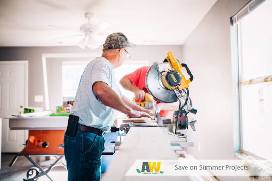 Save on Summer Projects with Arwood Waste Roll-Off Dumpster Rentals and Junk Removal