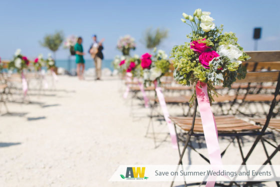 Wedding Celebrations and Summer Events - (888) 413-5105 Toll Free – Dumpster Rentals, Residential Roll Off Dumpsters, Portable Toilets – Free Quote
