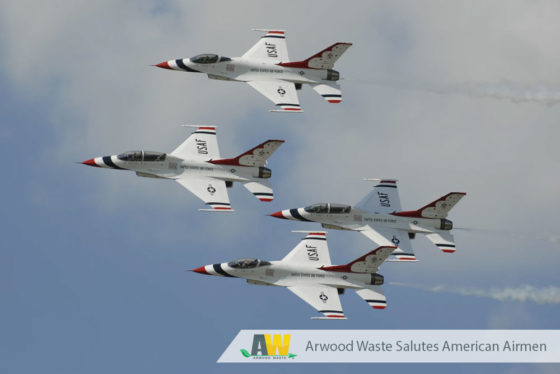 Arwood Waste Salutes the U.S. Air Force