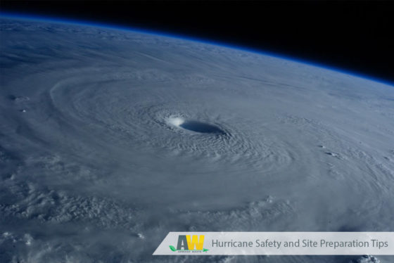 Hurricane Safety and Site Preparation Tips from Arwood Waste
