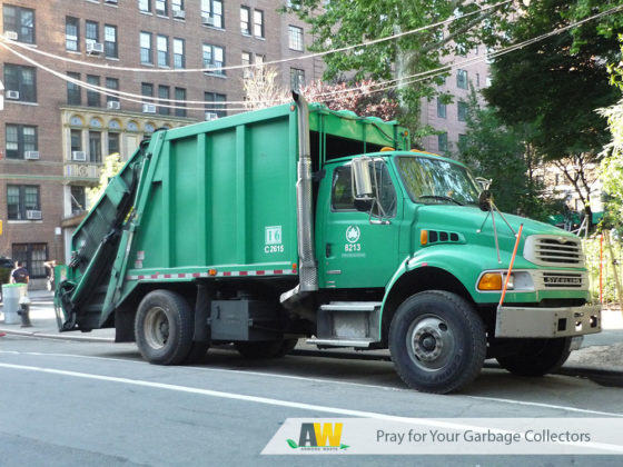 Pray for Your Garbage Collectors | Arwood Waste