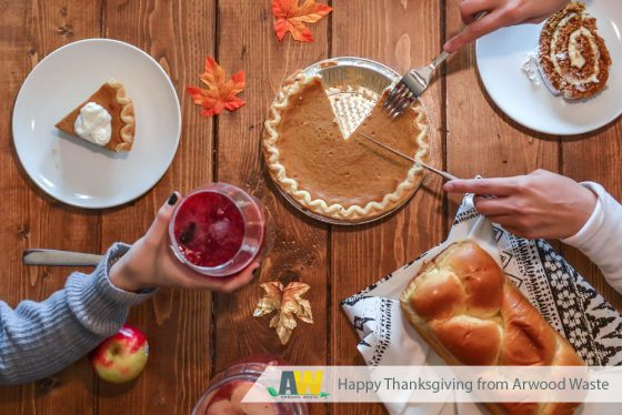 Happy Thanksgiving from Arwood Waste