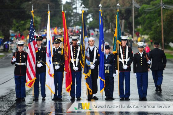 Thank You from Arwood Waste to Our Veterans this Veterans Day and Always