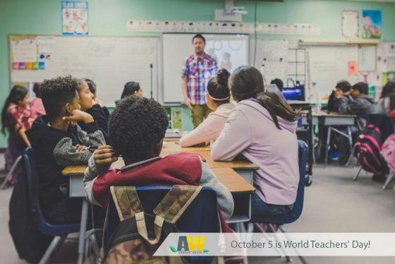 Arwood Waste Celebrates Teachers on World Teachers' Day!