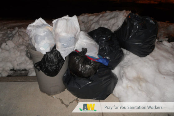 Pray for You Sanitation Workers   Arwood Waste
