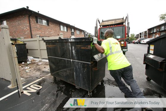 Pray For Your Sanitation Workers Today | Arwood Waste