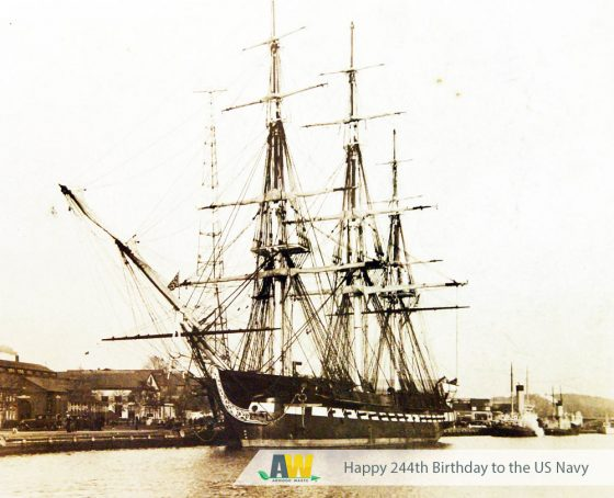 Happy 244th Birthday United States Navy! | Arwood Waste (888) 413-5105