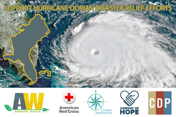 Support Hurricane Dorian Cleanup and Recovery